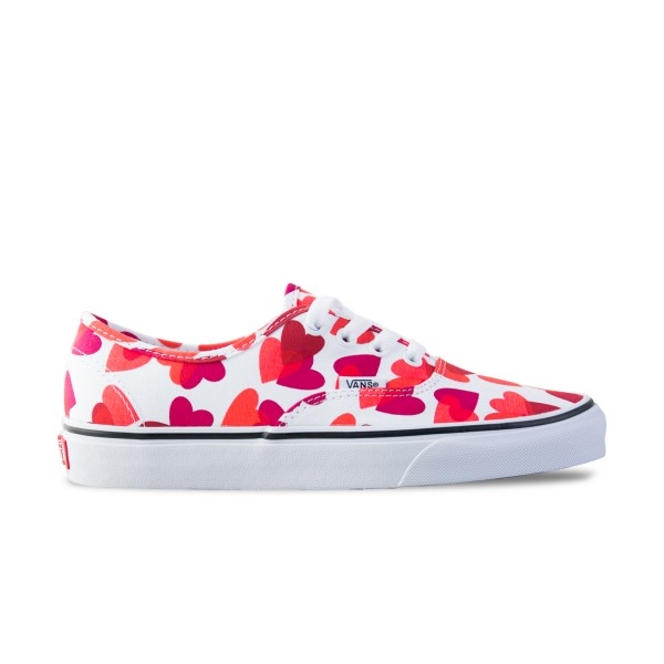 Vans Authentic Hearts White - Pink