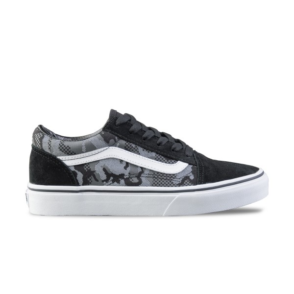 Vans Old Skool Pattern Camo Black
