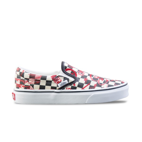 Vans Slip-On Crew Checkerboard Multicolor