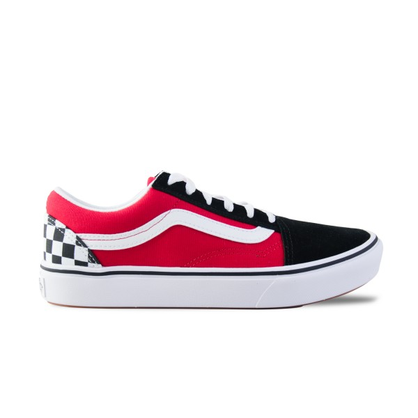 Vans Old Skool ComfyCush Checkerboard Black - Red