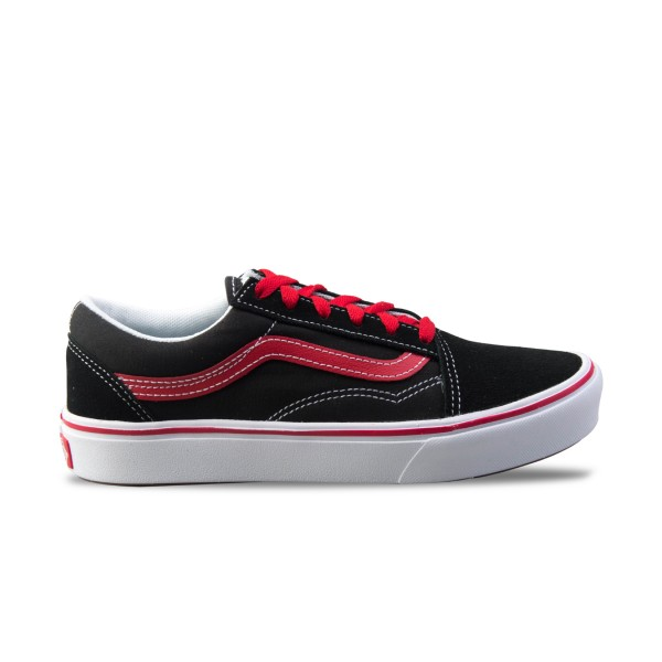 Vans Old Skool Pop ComfyCush Black - Red