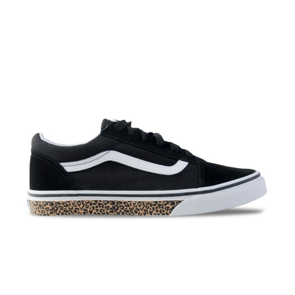 Vans Old Skool Youth Animal Sidewall Black
