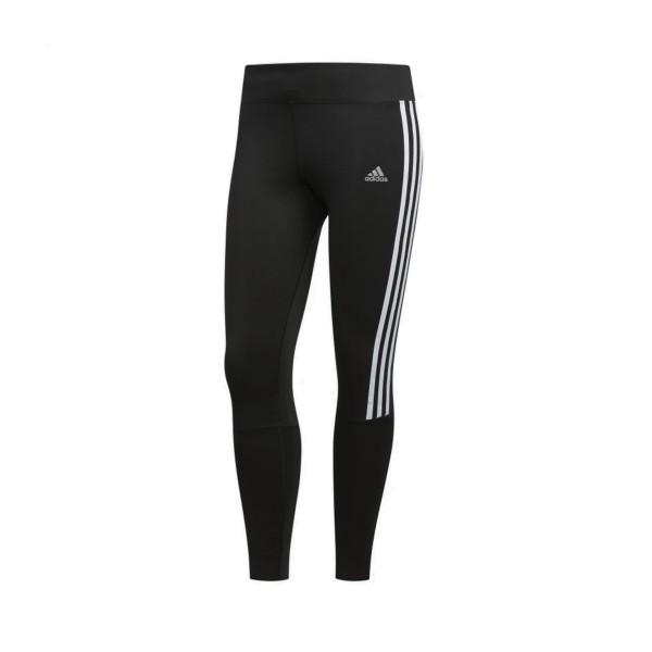 Adidas Running 3 Stripes Γυναικειο Κολαν Μαυρο