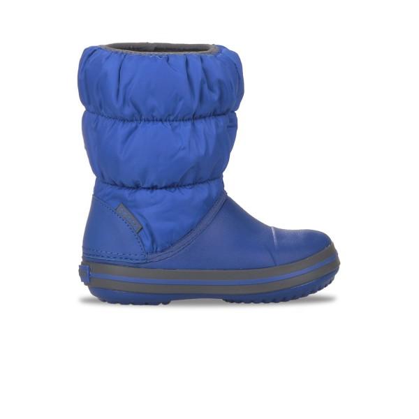 Crocs Winter Puff Boot Παιδικη Γαλοτσα Μπλε