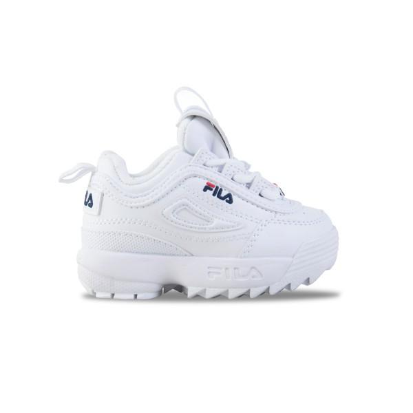 Fila Disruptor II Βρεφικο Παπουτσι Λευκο
