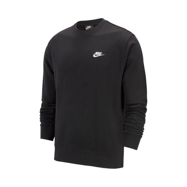 Nike Sportswear Club Longsleeves Ανδρικη Μπλουζα Μαυρη
