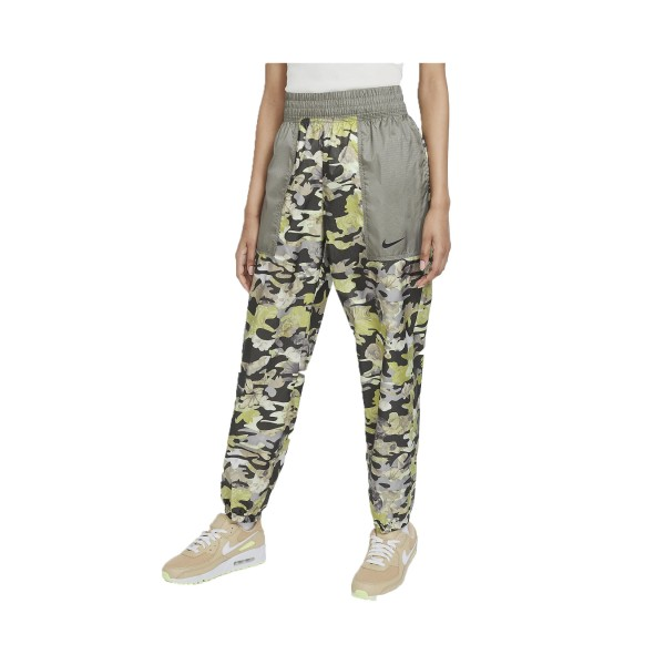 Nike Sportswear Easy Woven Floral Γυναικειο Παντελονι Καμο