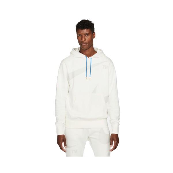 Nike Sportswear Swoosh Fleece  Ανδρικο Φουτερ Λευκο