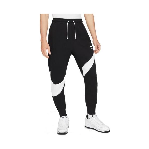 Nike Sportswear Swoosh Tech Fleece Ανδρικο Παντελονι Μαυρο