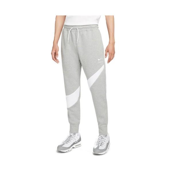 Nike Sportswear Swoosh Tech Fleece Ανδρικο Παντελονι Γκρι