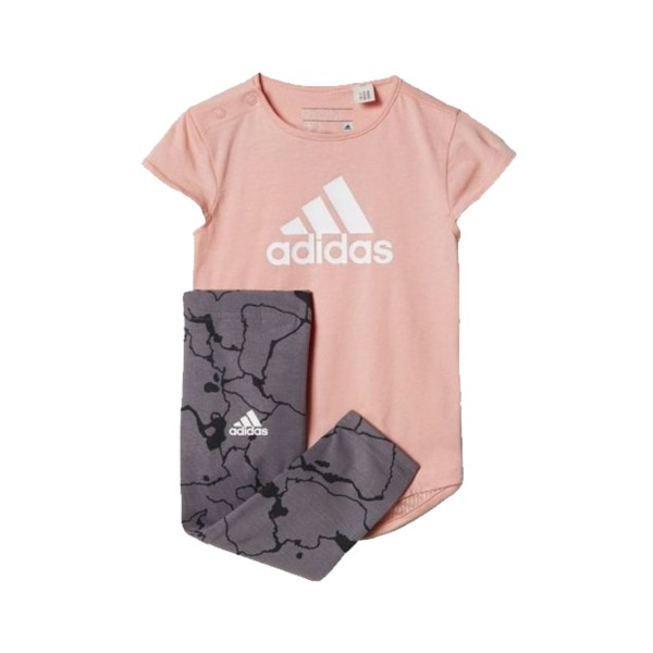 Adidas Performance  Set I Grey - Pink