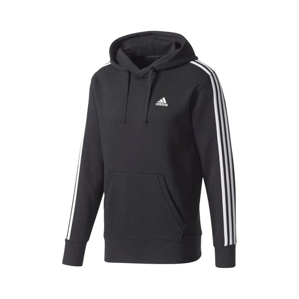 Adidas Performance Essentials 3-Stripes Pullover Black