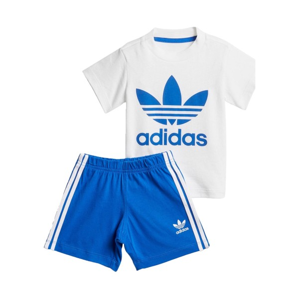 Adidas Originals Short Set I White - Blue