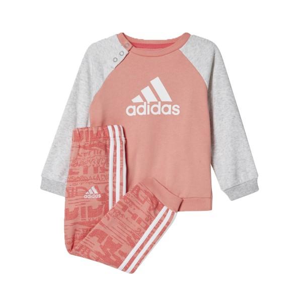 Adidas Jogger Tracksuit Grey - Pink