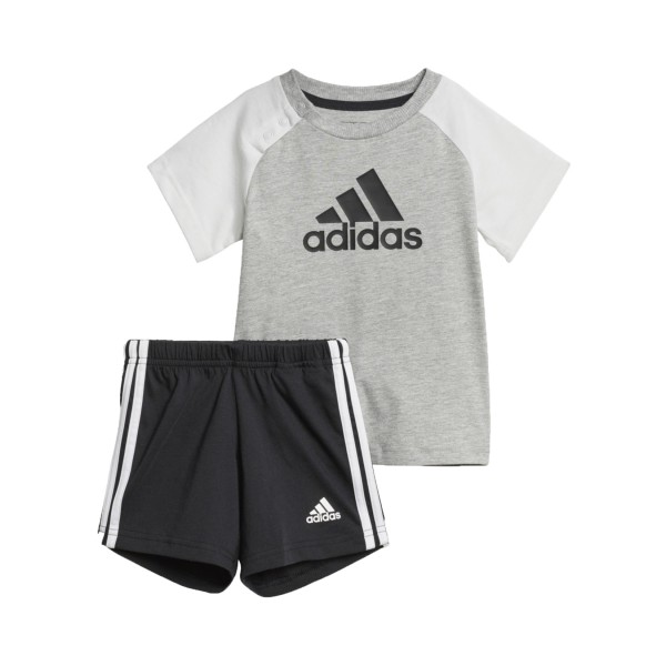 Adidas Summer Short Set I  Grey - Black