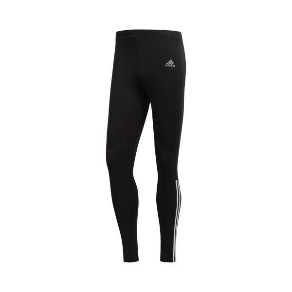 Adidas Perfomance Running 3-Stripes Tights Black