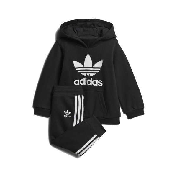 Adidas Originals Trefoil Hoodie Set Black