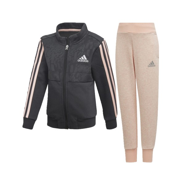 Adidas Performance  Track Suit Grey - Pink