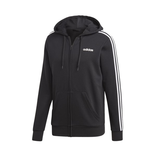 Adidas Essentials 3-Stripes Track Jacket Black