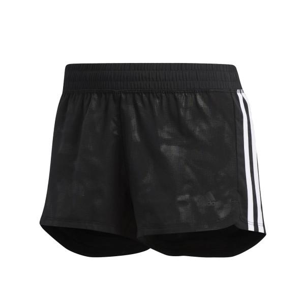 Adidas Performance 3-Stripes Embossed Shorts Black