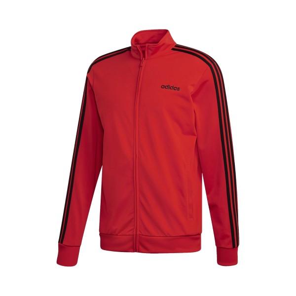 Adidas Essentials 3-Stripes TT Tricot Red
