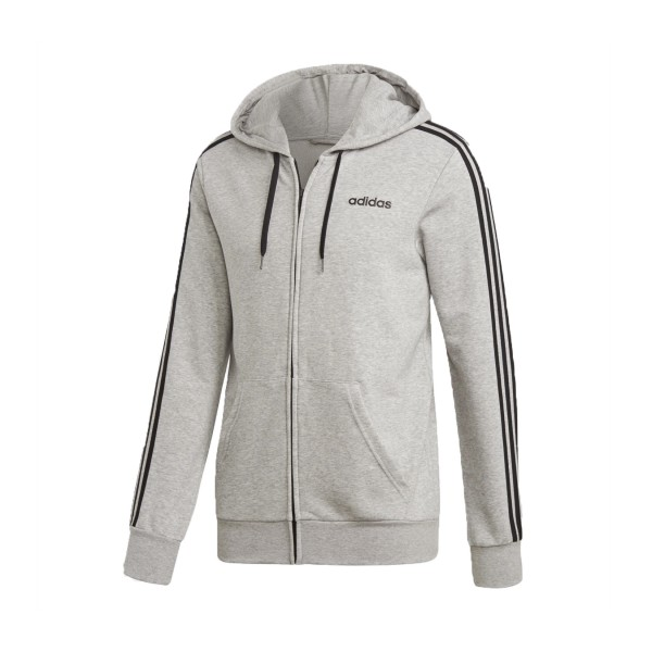 Adidas Essentials 3-Stripes Track Jacket Grey