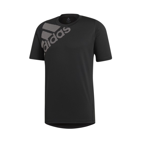 Adidas Freelift Badge Of Sport Graphic Tee Black