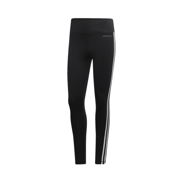Adidas Design 2 Move High-Rise Long 3 Stripes Tights Black