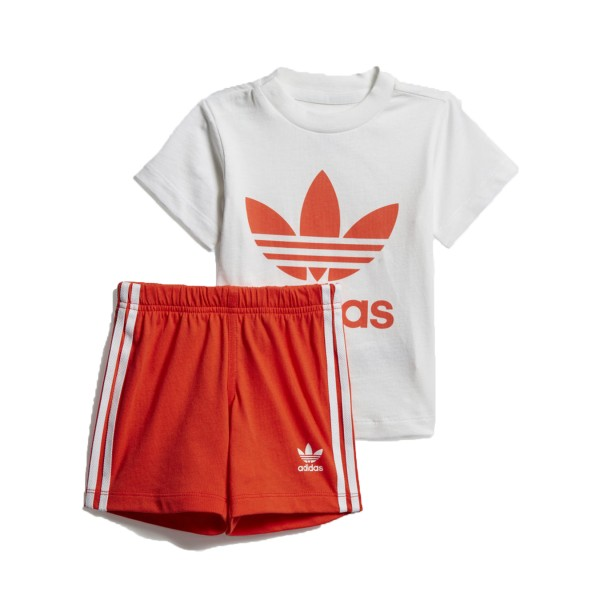 Adidas Originals Short Set I White - Red