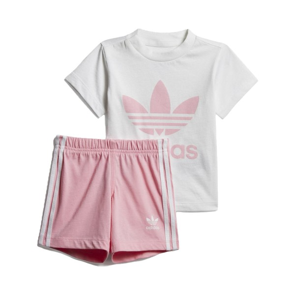 Adidas Originals Short Set I White - Pink