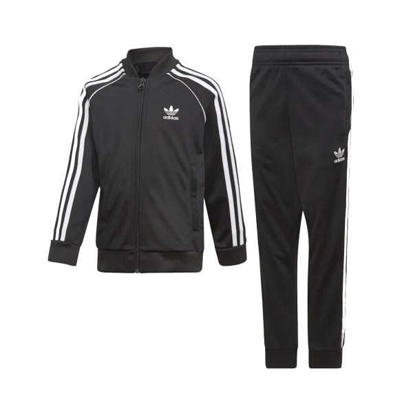 Adidas Originals Supestar Track Suit Black