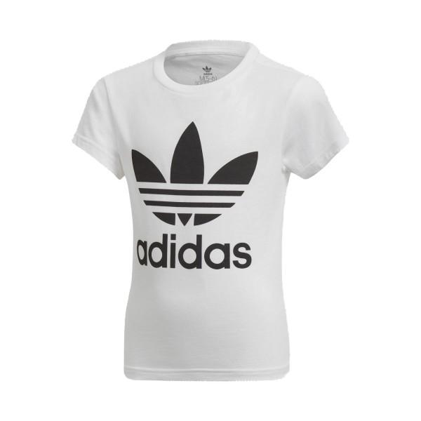 Adidas Originals Trefoil Tee Logos T-Shirt White