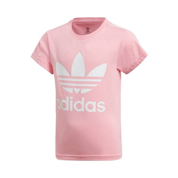 Adidas Originals Trefoil Tee Logos T-Shirt Pink