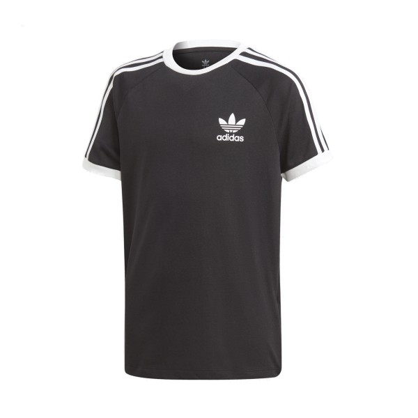 Adidas Originals 3-Stripes Youth Tee Black