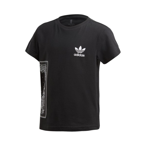 Adidas Originals Trefoil Tee Logos T-Shirt Black