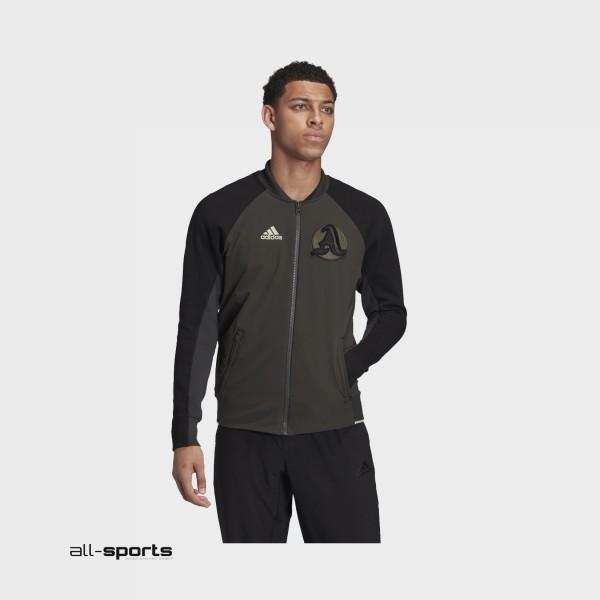 Adidas  New York VRCT Jacket M Green - Black