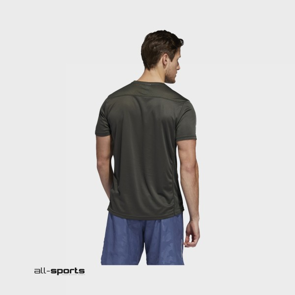 Adidas Performance Own The Run Tee Olive