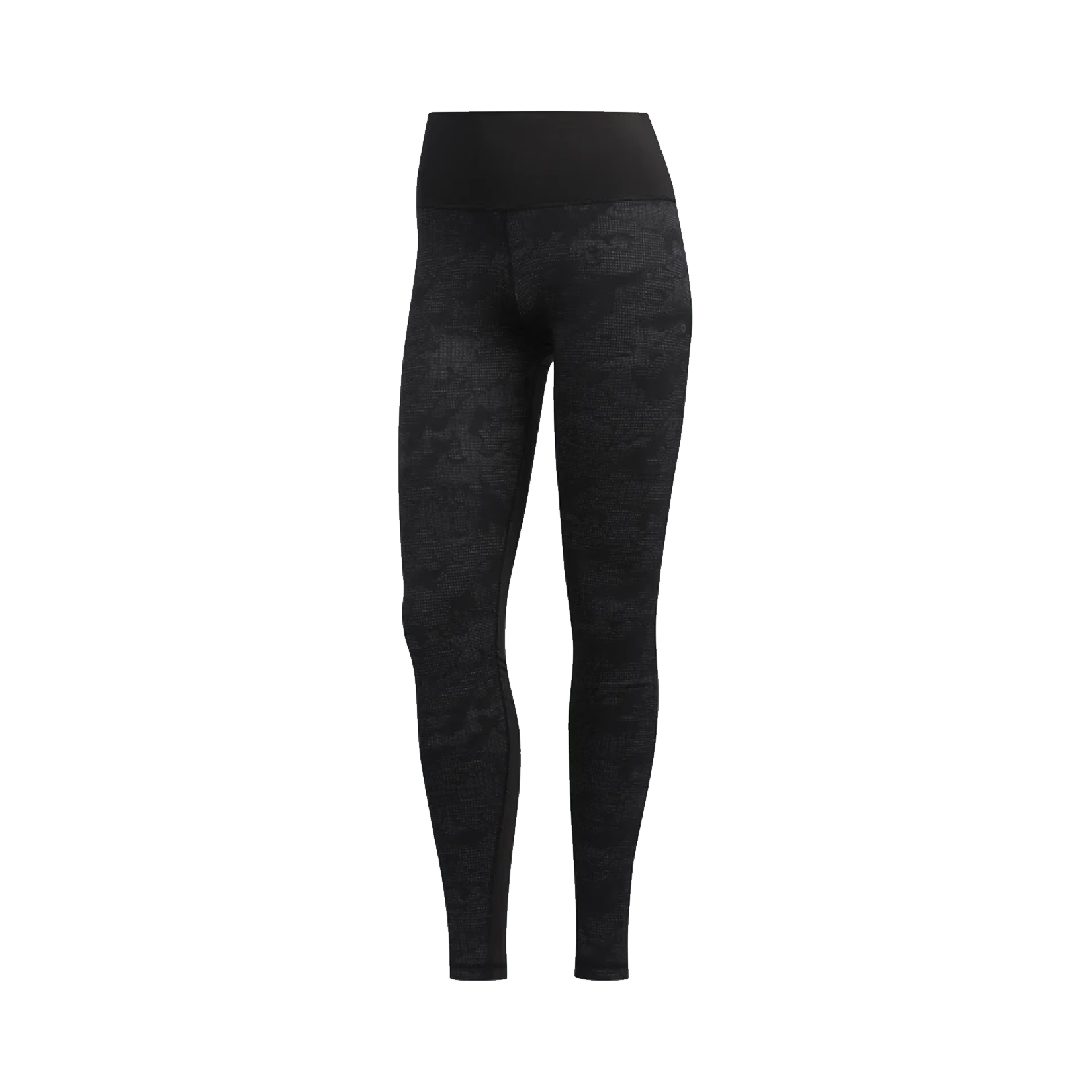 Adidas Believes This Camouflage Jacquard Tights Black