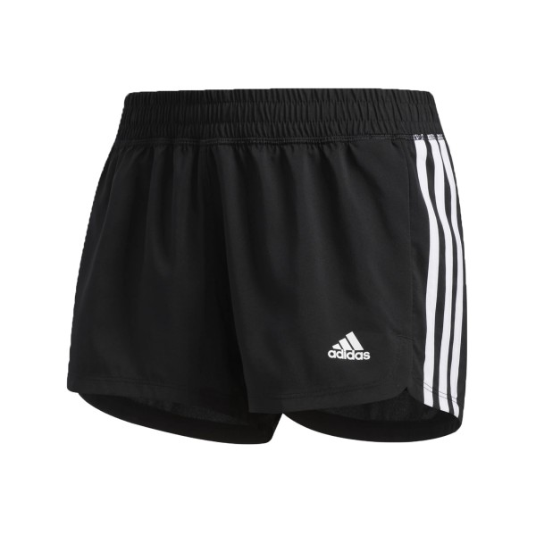 Adidas Performance Pacer 3-Stripes Woven Shorts Black