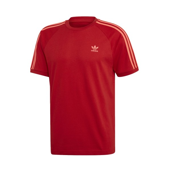 Adidas Originals Adicolor 3-Stripes Tee Red