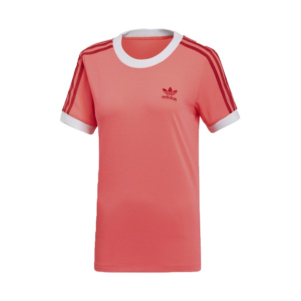 Adidas Originals 3-Stripes Tee T-Shirt Flash Red