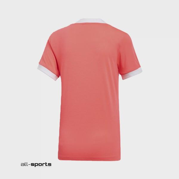 Adidas Originals 3-Stripes Tee T-Shirt Flash Red
