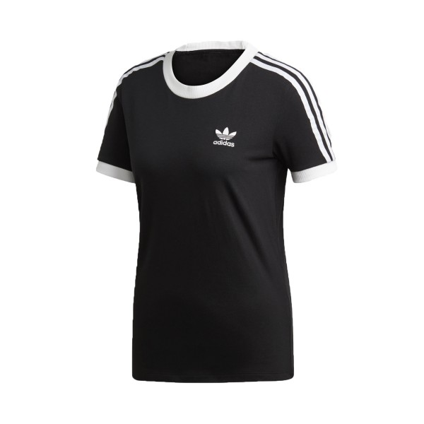 Adidas Originals 3-Stripes Tee T-Shirt Black - White