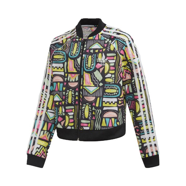 Adidas Originals Crop SST Top Jacket Multicolor