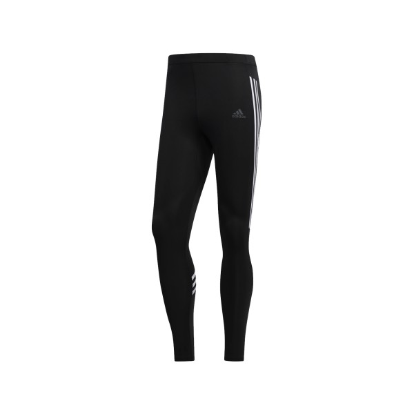 Adidas Run It 3-Stripes Tights Black
