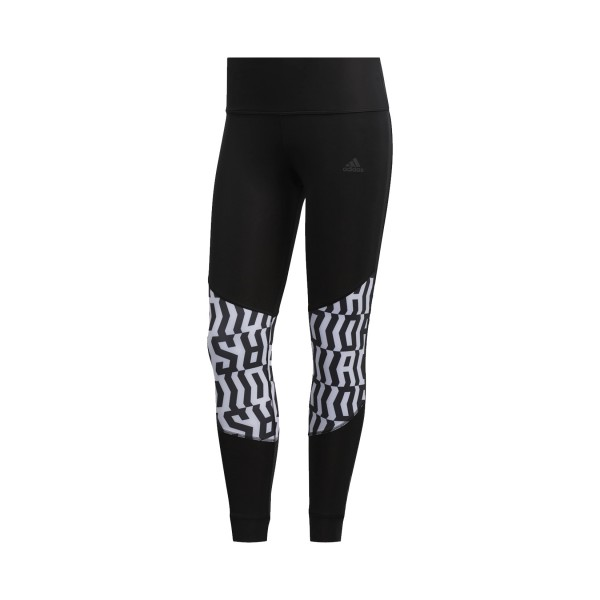 Adidas Performance Own The Run Tight Graphic Black - White