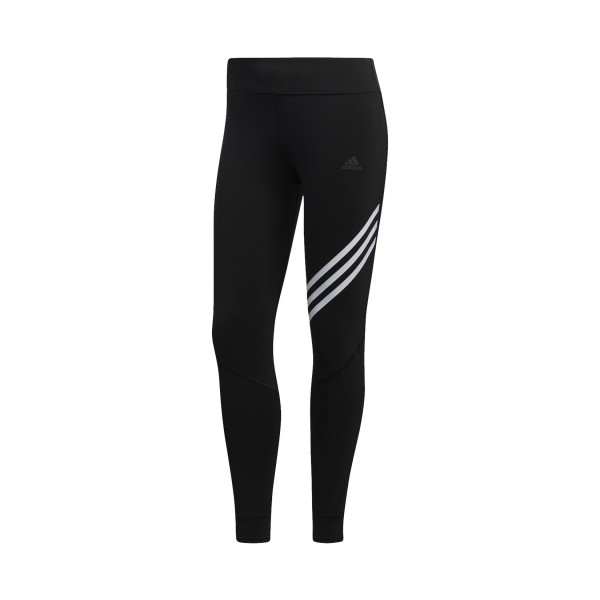 Adidas Performance Run It 3 Stripes 7/8 Tight Black