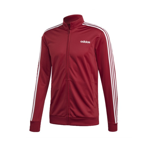 Adidas Essentials 3-Stripes Tricot Burgundy