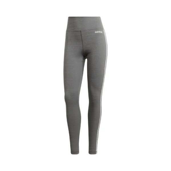 Adidas Design 2 Move High-Rise Long 3 Stripes Tights Grey