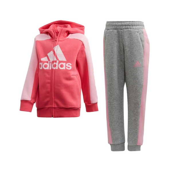 Adidas Performance Graphic Hoodie Pink - Grey